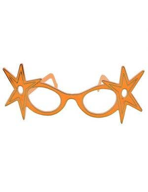 Dame Edna Budget Glasses - Orange