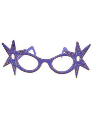 Dame Edna Budget Glasses - Blue
