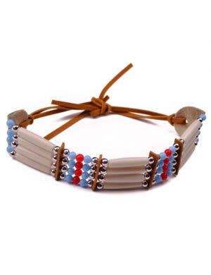 American Indian Beaded Costume Bracelet
