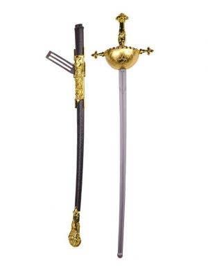 Musketeer Sword in Gold