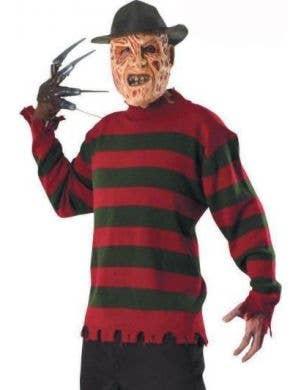 Freddy Krueger Deluxe Halloween Costume Jumper