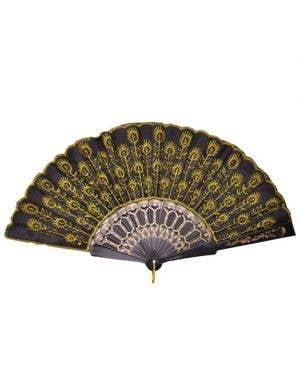 Chinese Costume Fan- Yellow