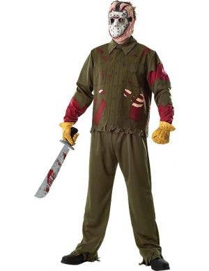 Friday the 13th Jason Men's Halloween Costume