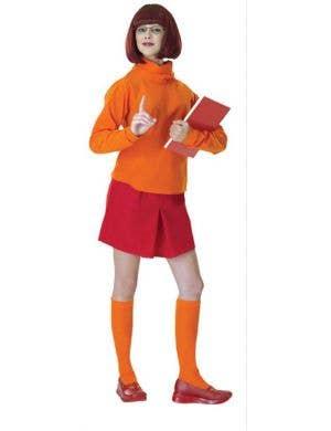 Women's Scooby Doo Velma Fancy Dress Costume