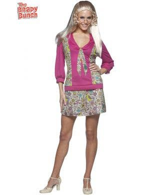 Women's Jan Brady Fancy Dress Costume
