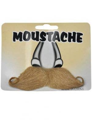 Curled Moustache - Blonde