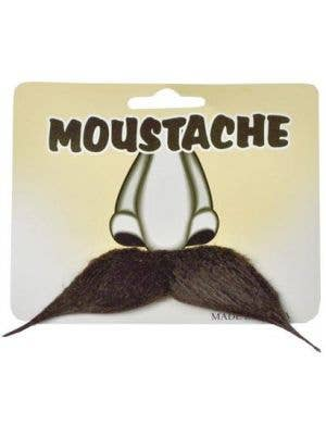 Pointed Moustache - Brown