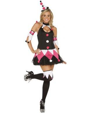 Court Jester - Sexy Circus Clown Costume