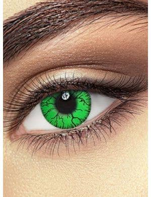 Hulk Green One Day Wear Coloured Contact Lenses