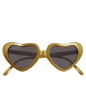 Novelty Heart Shaped Extra Large Costume Sunglasses