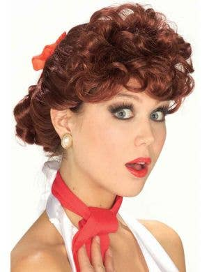 1950's Housewife Lucille Ball Women's Wig