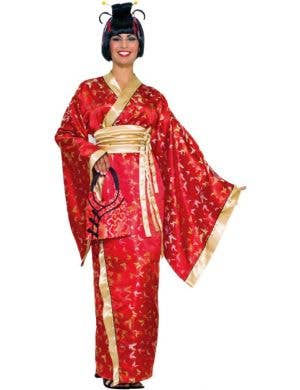 Madame Butterfly Women's Japanese Geisha Costume