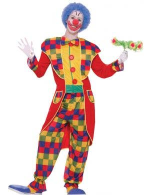 Tuxedo Clown Men's Fancy Dress Costume