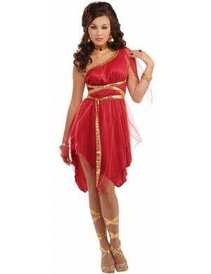 Ruby Red Goddess Sexy Women's Costume