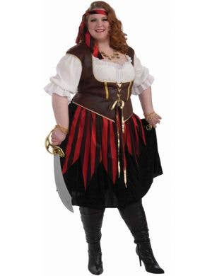 Pirate Lady Plus Size Women's Costume