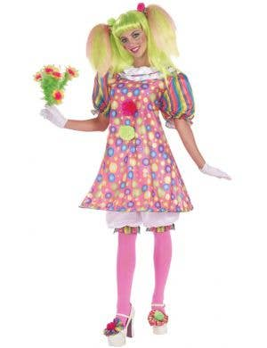 Tickles The Clown Women's Circus Costume