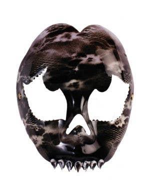 Evil Skull Green Halloween Masquerade Mask