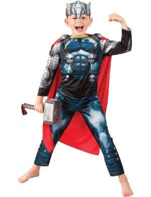 Childrens Marvel Avengers Thor Superhero Fancy Dress Costume For Boys Main Image