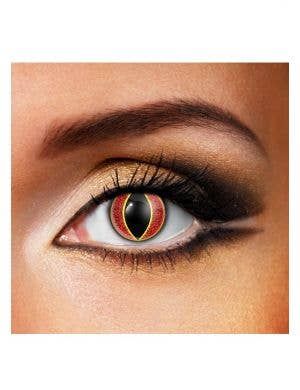 Sauron Eye Single Wear Halloween Contact Lenses