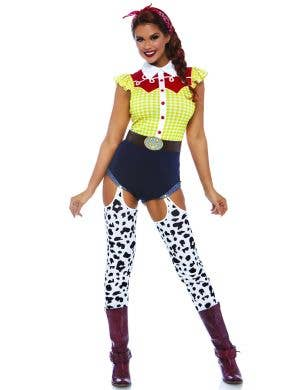 Giddy Up Cowgirl Sassy Jessie Women's Costume