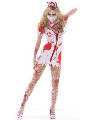 Bloodbath Betty Women's Nurse Zombie Costume