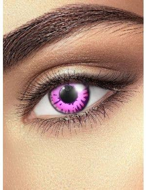 Enchanted Eye Pink 90 Day Coloured Contact Lenses