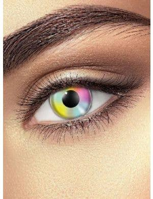Pastel Rainbow 90 Day Multi Colour Contact Lenses