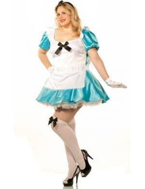 Alice in Wonderland Women's Plus Size Costume