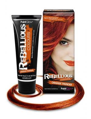 70ml Semi Permanent Conditioning Orange Thunder Special Effects Hair Dye