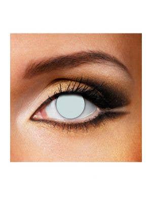 Walking Dead Grey Blind Single Wear Costume Contact Lenses