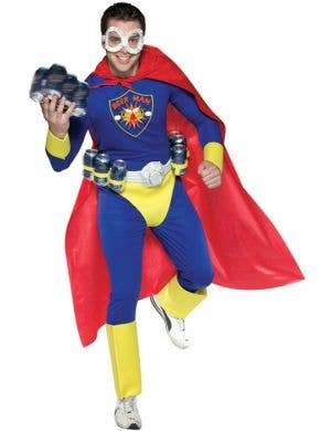 Beer Man Men's Superhero Costume