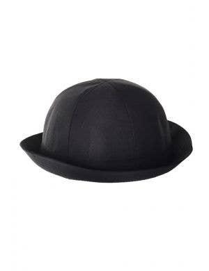 Canvas Black Bowler Costume Hat