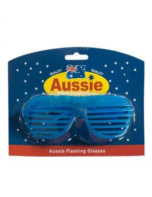 Australia Day Flashing Glasses