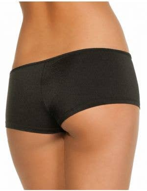 Lycra Women's Black Booty Shorts