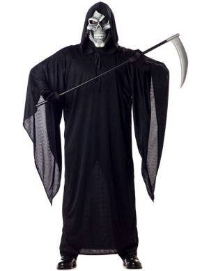 Halloween Grim Reaper Men's Fancy Dress Costume Main