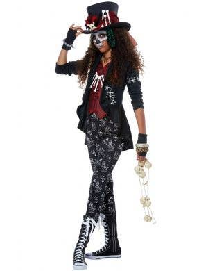 Voodoo Charm Witch Doctor Girls Tween Halloween Costume