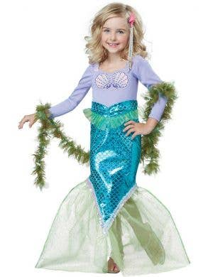 Toddler Girls Magical Mermaid Fancy Dress Costume