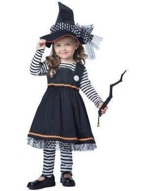 Crafty Little Witch Toddler Girls Halloween Costume