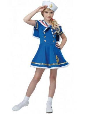 Girls Sunny Sailor Fancy Dress Occupation Costume