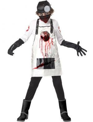 Boy's Killer Surgeon Halloween Doctor Costume Front View