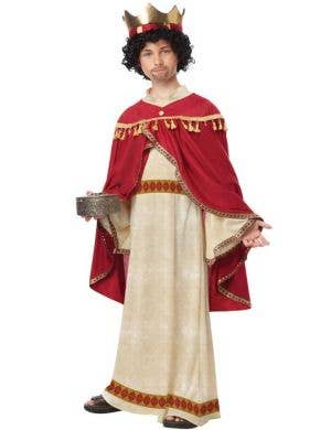 Boy's Wise Man Christmas Nativity Costume Front View