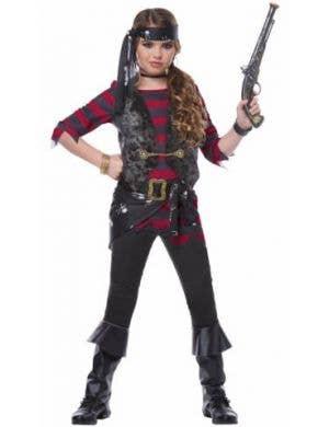 Girls Renegade Pirate Halloween Costume