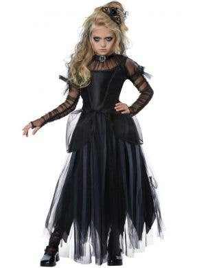 Dark Princess Girls Gothic Halloween Costume