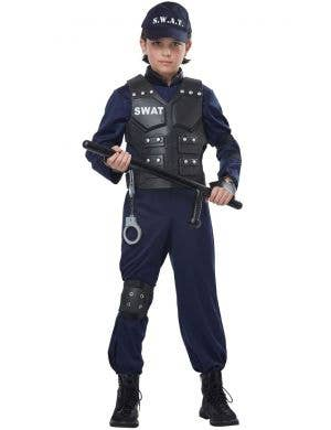 Junior SWAT Officer Boys Book Week Costume