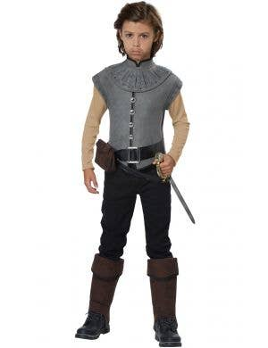 Captain John Smith New World Explorer Boys Costume Main Image
