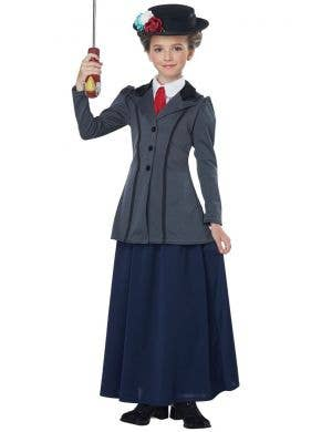English Nanny Girls Mary Poppins Book Week Costume