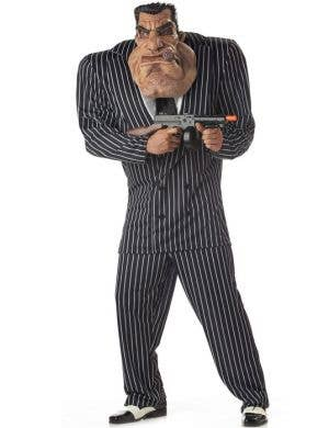 Massive Mobster Men's Gangster Costume