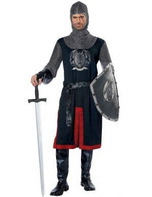 Dragon Knight Men's Medieval Fancy Dress Costume