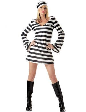 Convict Chick Sexy Women's Prisoner Costume