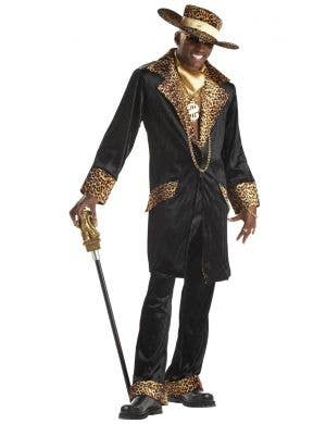 Men's Pimp Mac Daddy Fancy Dress Costume